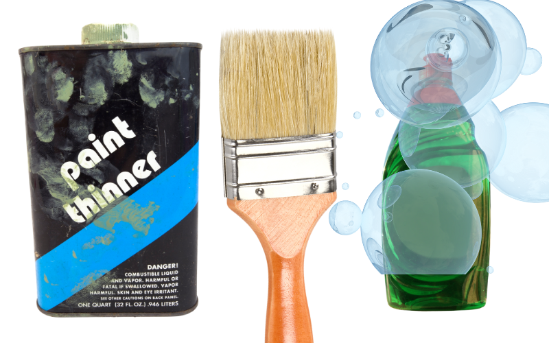 Cleaning Oil-based Paints