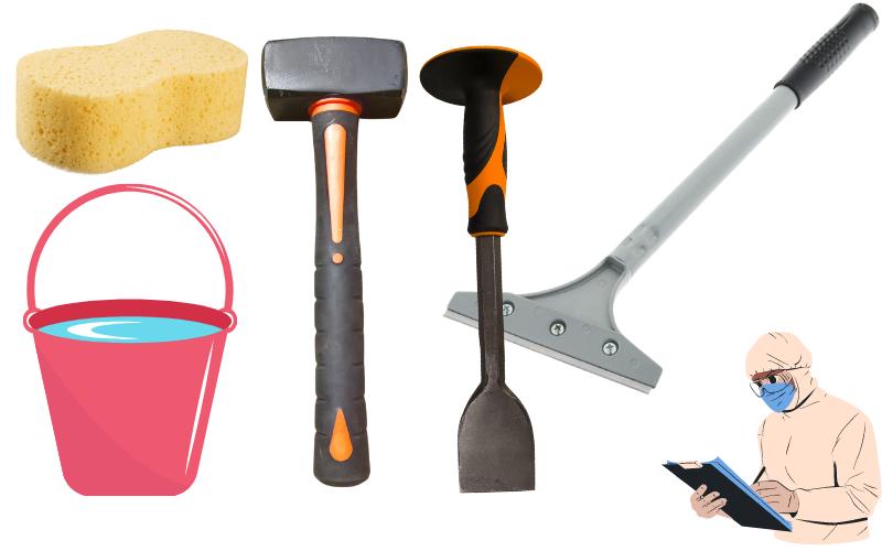 Correct Tools When Removing Artex