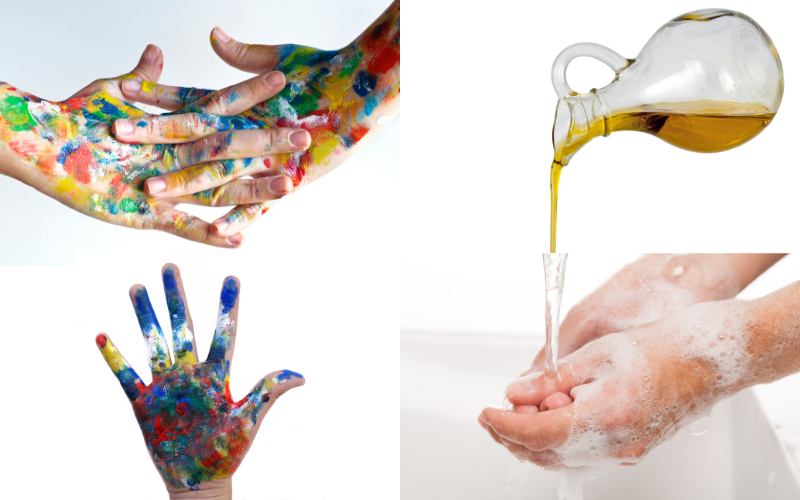 Paint On Your Hands - Example