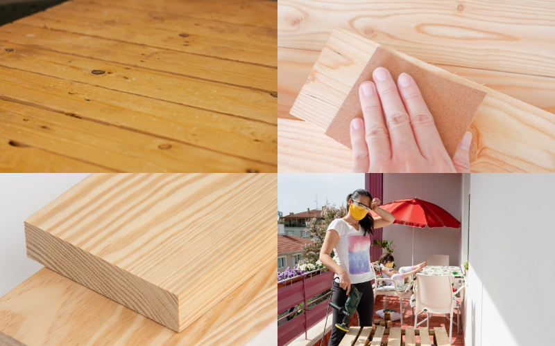 Smooth Wooden Pallets - Example