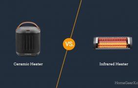 Ceramic vs. Infrared Heater