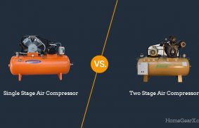 Single Stage vs. Two Stage Air Compressor