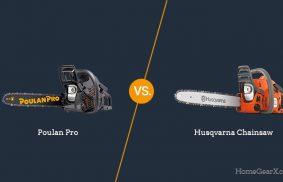 Poulan Pro vs. Husqvarna Chainsaw