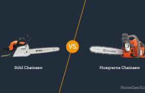 Stihl vs. Husqvarna Chainsaw