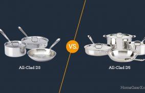 All-Clad D3 vs. D5