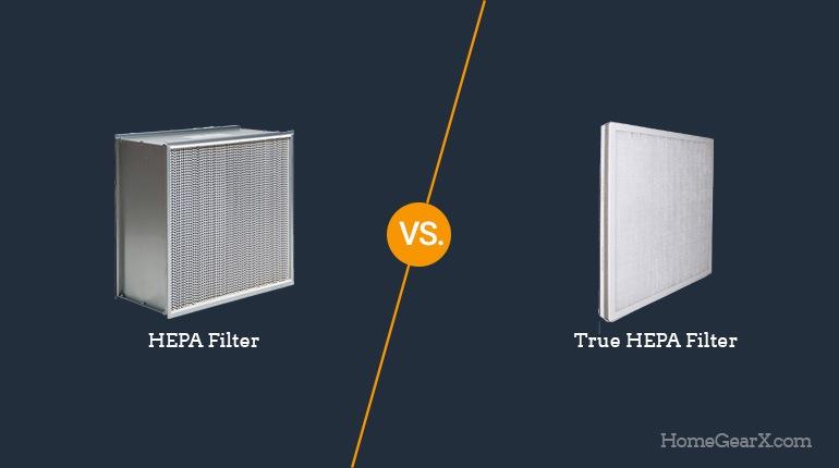 HEPA vs. True HEPA Filter