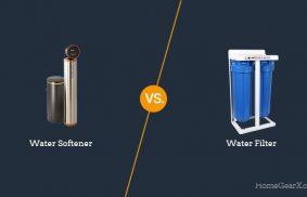 Water Softener vs. Water Filter