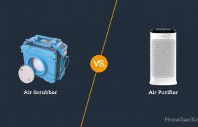 Air Scrubber vs. Air Purifier