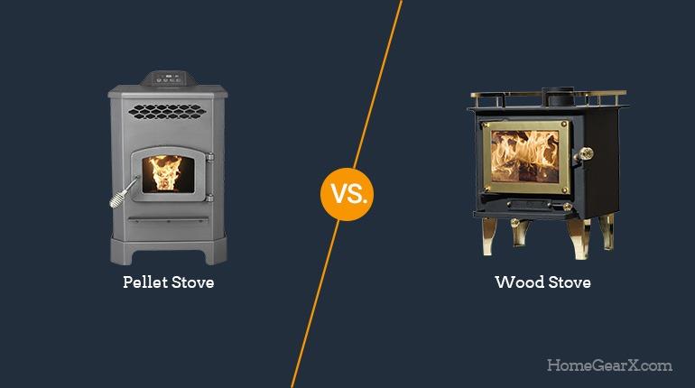 Pellet Stove vs. Wood Stove