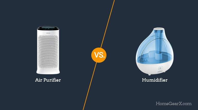 Air Purifier vs. Humidifier