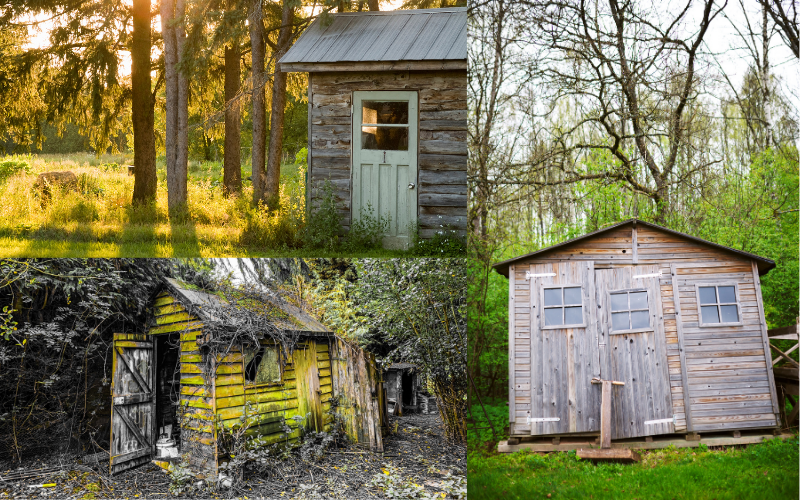 Bad Examples Od Old Garden Sheds