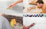 Cleaning Tile Grout - Examples