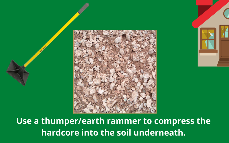 Compress Hardcore With A Thumper Or Earth Rammer