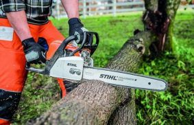 How Does a Chainsaw Work