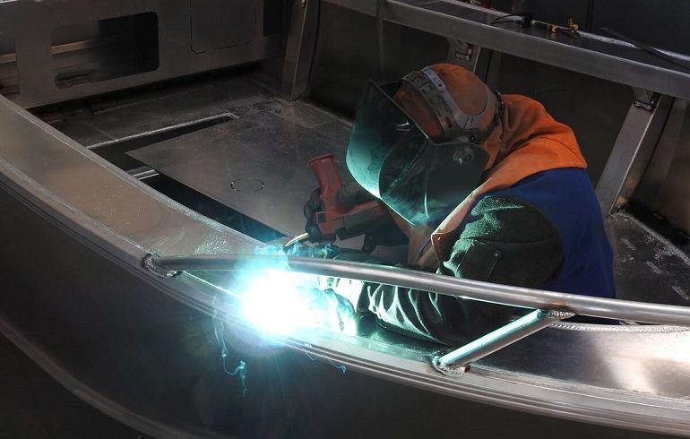 Welding Aluminum Boats