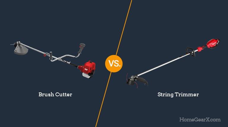 Brush Cutter vs. String Trimmer
