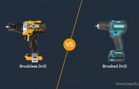 Brushless vs. Brushed Drill
