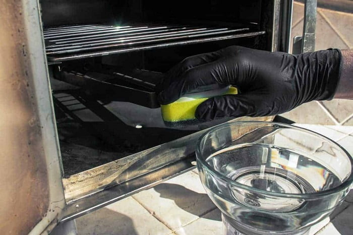Clean an Electric Smoker