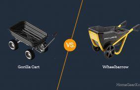 Gorilla Cart vs. Wheelbarrow