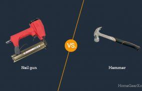 Nail Gun vs. Hammer