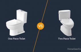 One Piece vs. Two Piece Toilet