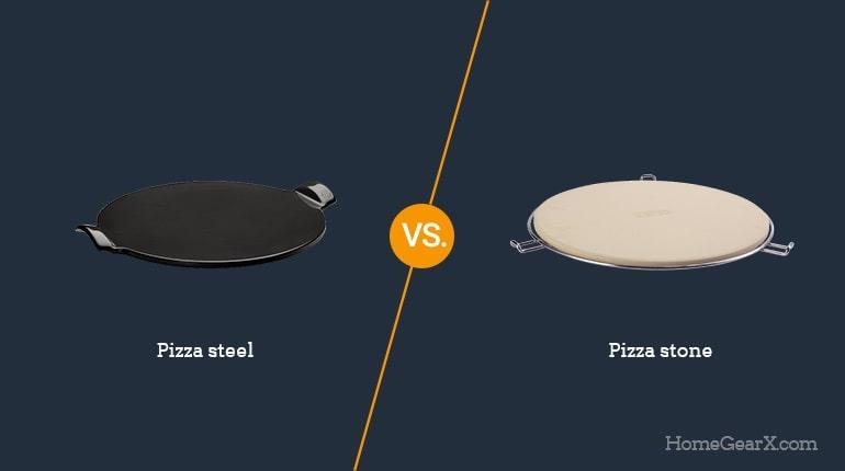 Pizza Steel vs. Pizza Stone